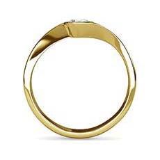 Felicity yellow gold diamond ring