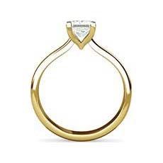 Yolanda yellow gold diamond ring