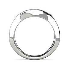 Abigail platinum engagement ring