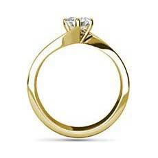 Tanvi yellow gold engagement ring