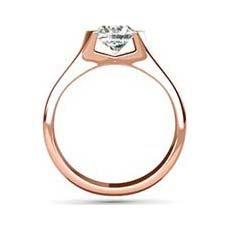 Damaris rose gold engagement ring