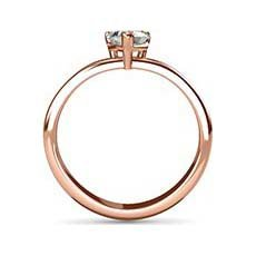Inspire rose gold diamond engagement ring