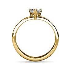 Inspire yellow gold diamond engagement ring