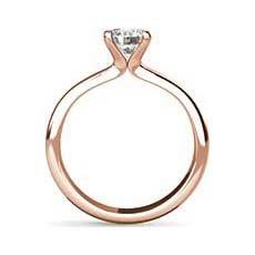 Giselle rose gold diamond engagement ring