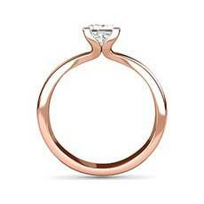 Eloise rose and white gold engagement ring