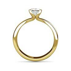 Eloise yellow gold engagement ring