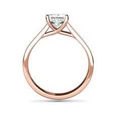 Celeste rose gold engagement ring