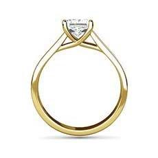 Celeste yellow gold diamond ring