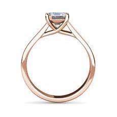 Gail rose gold engagement ring