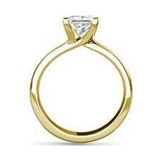 Judy yellow gold diamond engagement ring