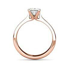 Amy rose gold ring