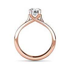 Fiona rose gold diamond ring