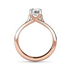 Fiona rose gold engagement ring