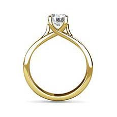 Fiona yellow gold ring