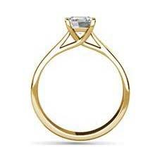Chloe yellow gold engagement ring