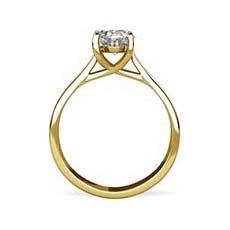 Morgan yellow gold engagement ring