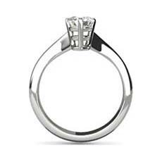 Katy platinum diamond ring