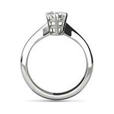 Katy white gold diamond ring