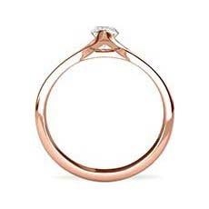 Antoinette rose gold engagement ring