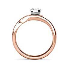 Molly rose gold engagement ring