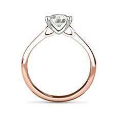 Tamsin rose gold engagement ring