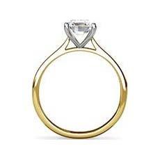 Belita yellow gold diamond ring