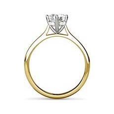 Delphine yellow gold ring