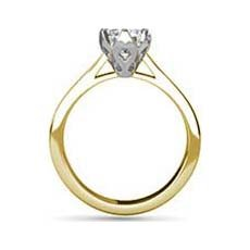 Persephone yellow gold engagement ring