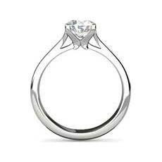 Maria platinum diamond ring