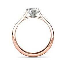 Jessica rose gold ring