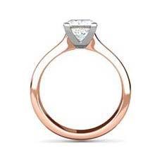 Sasha rose gold engagement ring