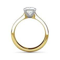 Sasha yellow gold ring