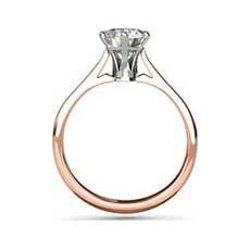 Ophelia rose gold ring