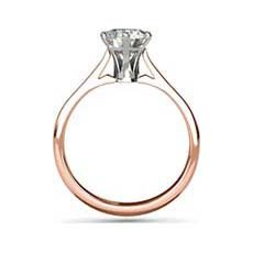 Ophelia rose gold ring