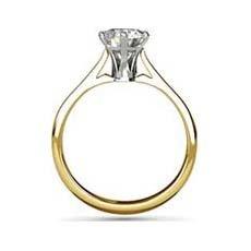 Ophelia yellow gold diamond ring