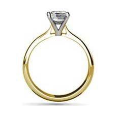 Lauren yellow gold diamond ring