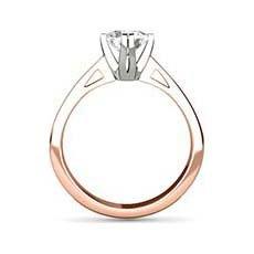 Grace rose gold engagement ring
