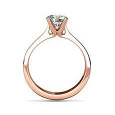 Francesca rose gold engagement ring
