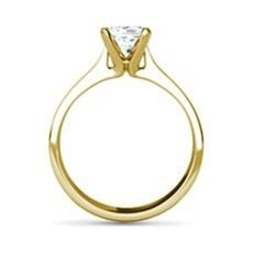Sabrina yellow gold diamond ring