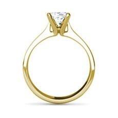 Sabrina yellow gold diamond ring