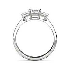 Zara princess cut ring