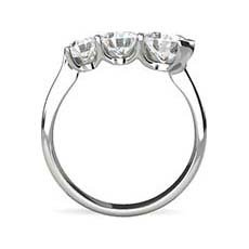 Ondine 3 stone engagement ring