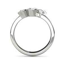 Natalie trilogy diamond ring