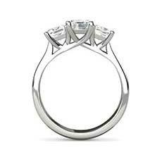 Bronwyn baguette cut diamond ring