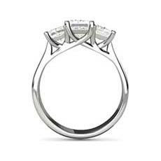 Virginia princess cut ring