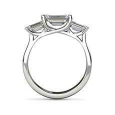 Ursula 3 stone engagement ring