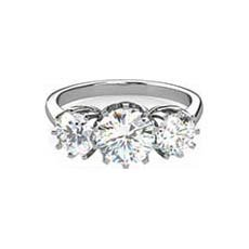 Athena trilogy diamond ring