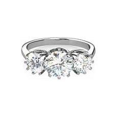 Athena trilogy diamond ring