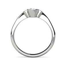 Anouska pear cut diamond ring