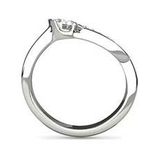 Penelope five stone diamond ring